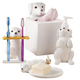 Dog Bathroom Accessories, Set of 4 by OakRidge™, One Size