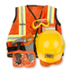 Melissa & Doug Personalized Construction Worker Costume Set, One Size