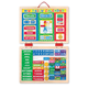 Melissa & Doug Wooden My First Daily Magnetic Calendar, One Size