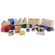 Melissa & Doug Wooden Farm Train, One Size