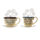 Coffee Friends Wall Hanging Set of 2, One Size