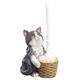 Colorful Kitten Toilet Brush Holder by OakRidge™, One Size