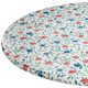 Buds 'n Blooms Vinyl Elasticized Table Cover, One Size