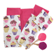 Cupcake Towel and Spatula 8 Piece Set, One Size