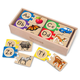 Melissa & Doug Personalized Letter Puzzles, One Size