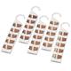 Cedar Hanger Organizers, Set of 5 by OakRidge™, One Size