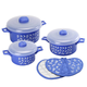 Microwave Pot and Pot Holder Set, One Size