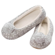 Nordic Style Ballet Slippers with Pom-Pom, One Size