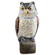 Scare Owl with Spring Neck by Pest-B-Gone™, One Size