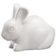 Bunny Cotton Ball Dispenser by OakRidge™, One Size