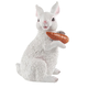Resin Bunny with Carrot Statue, One Size
