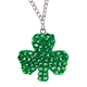 St. Patrick's Day Bling Necklace, One Size