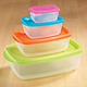 Multi-Colored Storage Containers Set Of 4