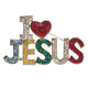 I Love Jesus Pin, One Size