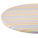 Easter Stripe Vinyl Elasticized Table Cover, One Size