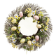 Easter Eggs and Daisy Grapevine Wreath, One Size
