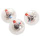 Motion Activated Cat Balls, Set of 3, One Size