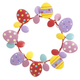 Metal Easter Egg Wreath by Maple Lane Creations™, One Size