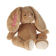 Personalized Brown Plush Bunny