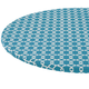 Lattice Vinyl Elasticized Table Cover by HSK, One Size