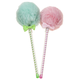 Pom Pom Pens, Set of 2, One Size