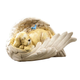 Resin Dog in Angel Wing Statue, One Size