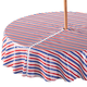 Patriotic Zippered Umbrella Table Cover, One Size