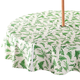 Garden Greenery Zippered Umbrella Table Cover, One Size