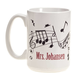 Personalized Musical Notes Mug, One Size