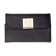 Monogrammed Black Business Card Case, One Size