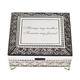 Personalized Antique Rectangular Keepsake Box, One Size