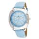 Blue Stitched Strap Watch, One Size