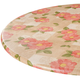 Spring Poppy Vinyl Elasticized Table Cover by HSK, One Size
