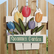 Personalized Tulip Plaque