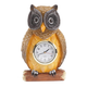 Resin Owl Clock, One Size