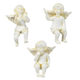 Resin Cherub Pot Sitters, Set of 3 by Maple Lane Creations™, One Size