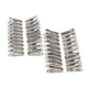 Stainless Steel Clothespins, Set of 40, One Size