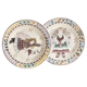 Angel Charm Display Plates Set of 2, One Size