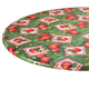 Apple Patch Vinyl Elasticized Table Cover by HSK, One Size