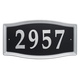 Easy Street Address Sign, One Size