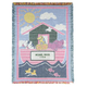 Personalized Child's Noah's Ark Afghan, One Size
