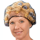 Black Hair Nets, Set of 3, One Size