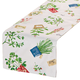 Potted Herbs Table Runner by OakRidge Kitchen Gallery, One Size