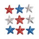 Patriotic Ornaments Set of 9, One Size