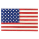 American Flag Wood Plaque, One Size