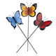 Butterfly Planter Stakes, Set of 3 by Maple Lane Creations™, One Size