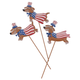 Metal Patriotic Dog Stakes, Set/3 by Fox River Creations™, One Size