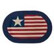 Americana Braided Rug by OakRidge™, One Size