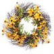 Black Eyed Susan Grapevine Wreath, One Size