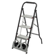 Rolling Step Ladder Dolly by LivingSURE™, One Size